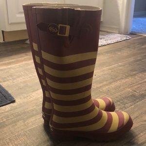 Lillybee Shoes - FSU women's rain boots.